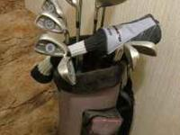 OBO ProSelect NXT Tech Stainless -- Clubs and bag.