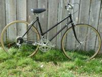 Ladies Puegeot road bike with new tires and tubes.Has
