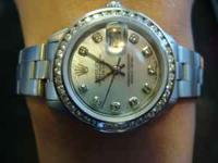 BEAUTIFUL LADIES OYSTER PERPETUAL DATE JUST ROLEX.