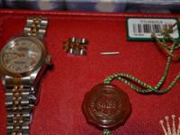 Purchased new only one owner. Authentic Rolex Lady