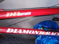 Excellent condition, hardly used ladies red Diamondback