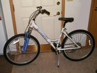 FORSALE WOMANS OR MENS 26 IN. 21 SPEED BICYCLE. IT WAS