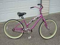 Women's Single Speed Cruiser Bicycle $150 Used 1