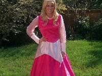Adult Ladies Sleeping Beauty Cosplay dress. Very high