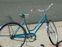 VERY NICE SCHWINN CRUISER STYLE LADIES SINGLE SPEED