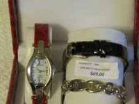 Ladies watch by Coldwater Creek (new - $69). Never