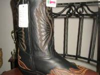 Ladies Western Wild Wings by Laredo. New in Box. Size 9