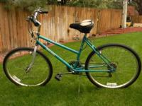 Cruise and tour town in style riding this Turquoise