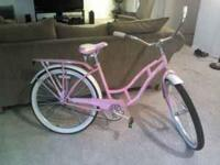 "Ladies 26"" Pink Schwinn. In excellent condition. Bought"
