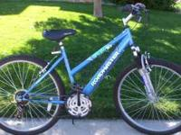 I have a Ladies Roadmaster Mtn Bike for sale. It has