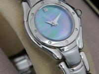 Ladies Seiko Watch (style # SXGJ75) - $40  Stainless