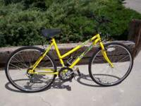 This is a Schwinn (Frontier) It has 12 speeds, 26inch