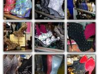 300 Prs of Lady Couture Shoes on sale! Fabulous High