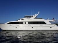 The 2001 Hatteras 92, LADY PAMELA, has been