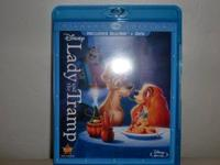 BRAND NEW NEVER USED LADY AND THE TRAMP BLU-RAY. I DONT