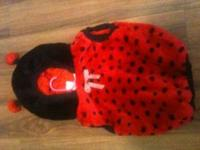 Selling a ladybug costume size 24 months .all one