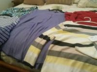 I HAVE  LADY S BLOUSES SOME WITH TAGS AND OTHER