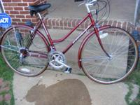 this is a very nice clean bike. from the 80's--call