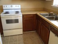 Two bedroom apartment one and half with washer and