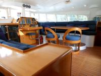 The Lagoon 470 has immense living space, this is the
