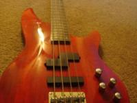 Laguna LB200 Electric Bass with Dual Active EQ, barely