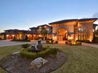 Lake Austin Estate on 5.8 acres with 400' of water
