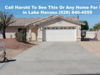This Beautiful MOVE IN READY 3/2  Lake Havasu Pool