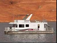 "This 46' ""Expedition houseboat is sold out for the"
