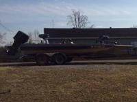 Norris craft bass boat that is lake ready out ever