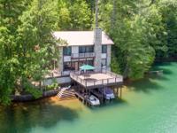 Lakefront living on exquisite Lake Rabun, Georgia's