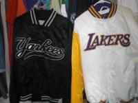 Laker (still has tag) and Yankee jacket like new Sizes: