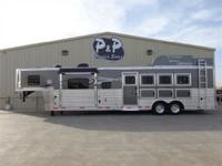 2015 Lakota 4 horse with a 13 amp 039 short wall living