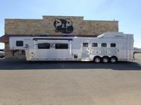This trailer is loaded 2015 Lakota, 4 Horse, PC Load,