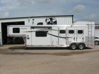 ALL ALUMINUM With all of the amenities this trailer