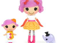 Hold the cuteness of Lalaloopsy Littles in the palm of