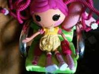 This is the Crumbs Sugar cookie Lalaloopsy silly hair