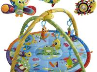 This Lamaze Pond Symphony Motion Play Gym Bundle makes