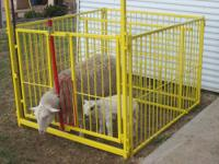 "Lambing pens/fair pens 5x5 pens 42"" tall, heavy duty"