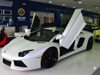 This 2012 Lamborghini Aventador 2dr 2dr Cpe AWD Coupe