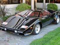 1984 Lamborghini Countach VIN: ZA9C00500ELA12691 First