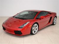 2008 Lamborghini Gallardo Coupe E-Gear in Red Metallic