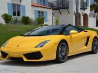 This 2011 Lamborghini Gallardo 2dr Coupe features a