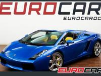 FEATURED: ONE OF A KIND 2008 GALLARDO SPIDER E.GEAR