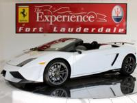 2011 Lamborghini Gallardo PerformanteBianco Monocerus