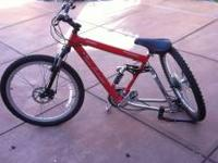 I am selling my men's Lamborghini mountain bike.