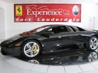 2009 Lamborghini MurcielagoBlack exterior over black