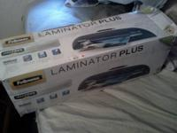 New in the box never been opened laminator machine.