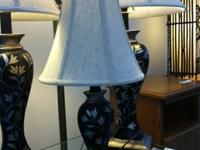 Huge Lamp Sale!!! Set of 4 NEW designer lamps only $49