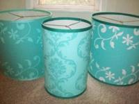 Lamp shades for arts, crafts projects, creating new