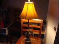 COOL, COLLECTORS, FUNKY, MONKEY LAMP. THE SHADE KINDA